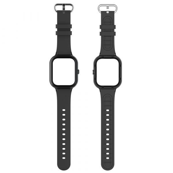 bracelet et boitier montre connectée enfant air noir 6