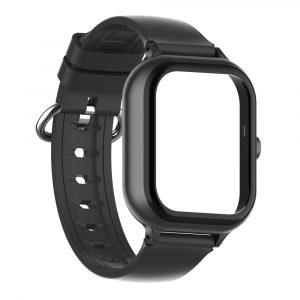 bracelet et boitier montre connectée enfant air noir 8