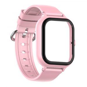 bracelet et boitier montre connectée enfant air rose 7