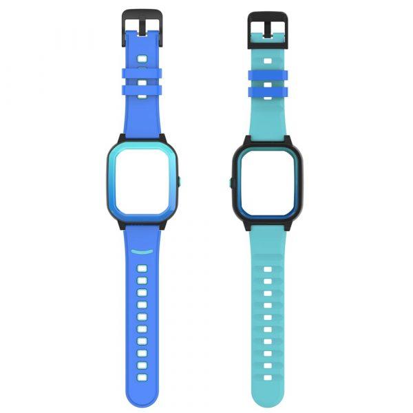 bracelet montre connectée enfant rainbow bleu 2