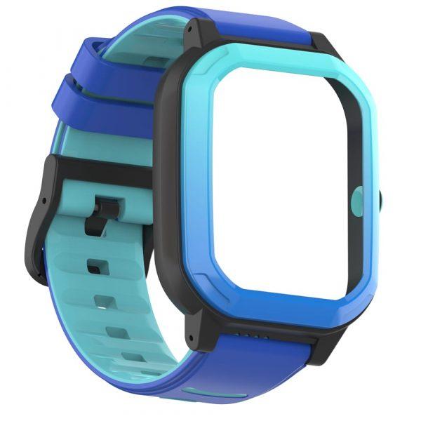 bracelet montre connectée enfant rainbow bleu 7