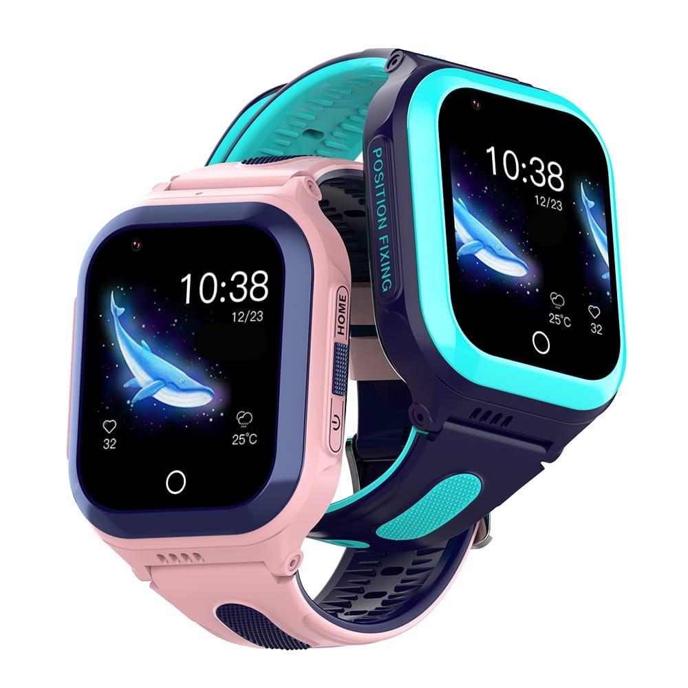 montre 4G enfant elite bleu et rose 2