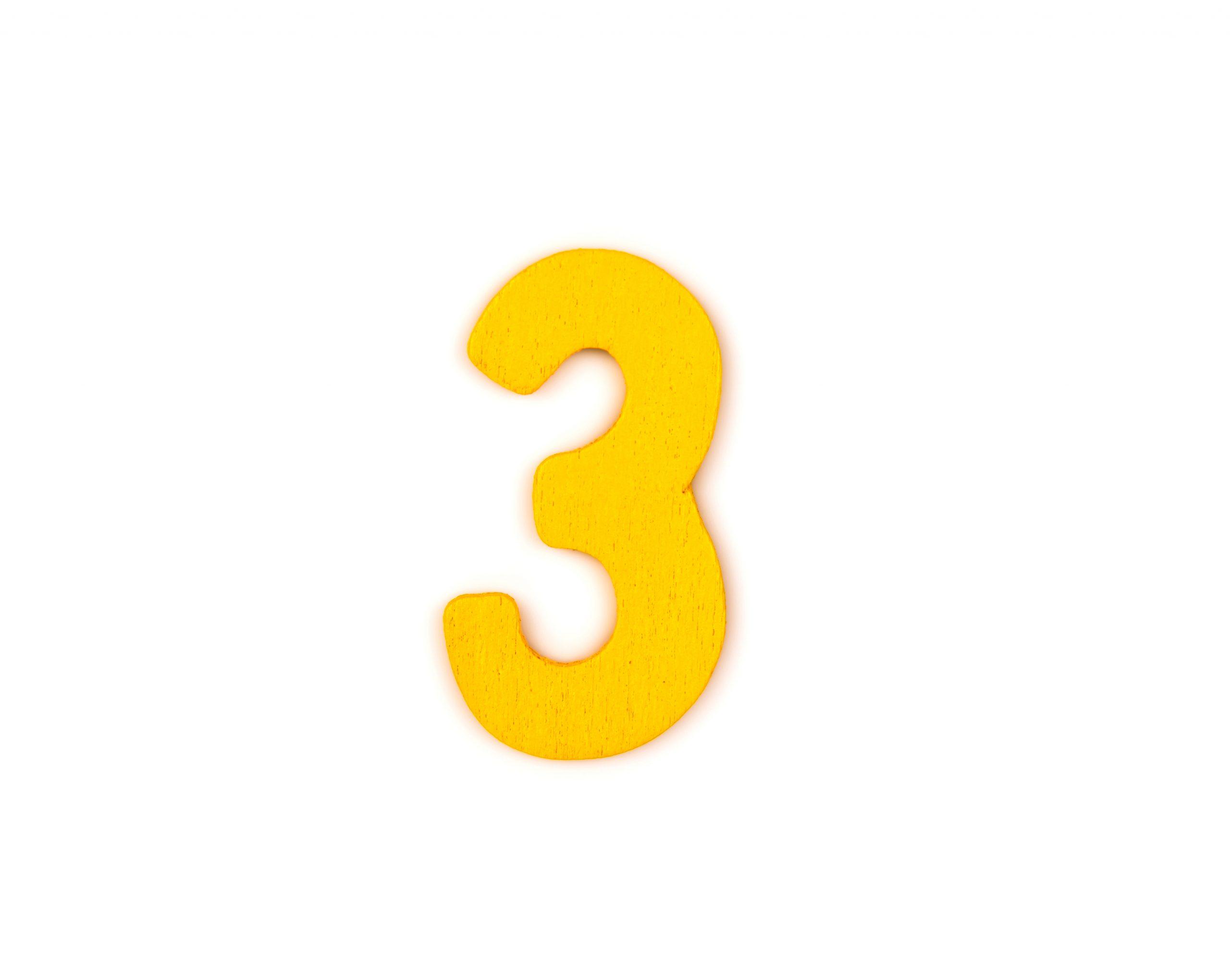 3 raisons